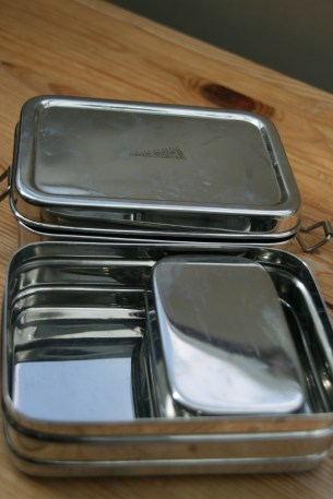 waste free lunch: metal lunchbox