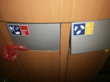 Recycling options on board German ICE train