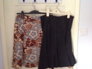 Project 333 Autumn: skirts