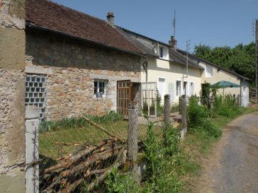 A free standing farmhouse