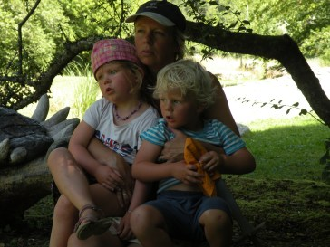 Annemarie and the children 2012