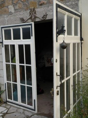 Grange doors