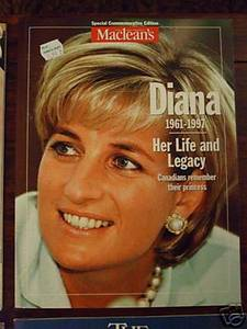 Macleans Special commemorative Ed Princess Diana book