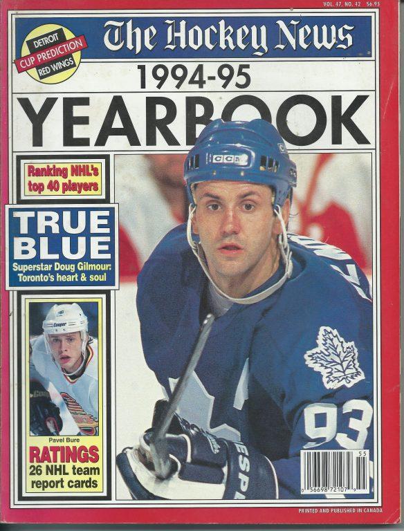 The Hockey News Yearbook 1994 5