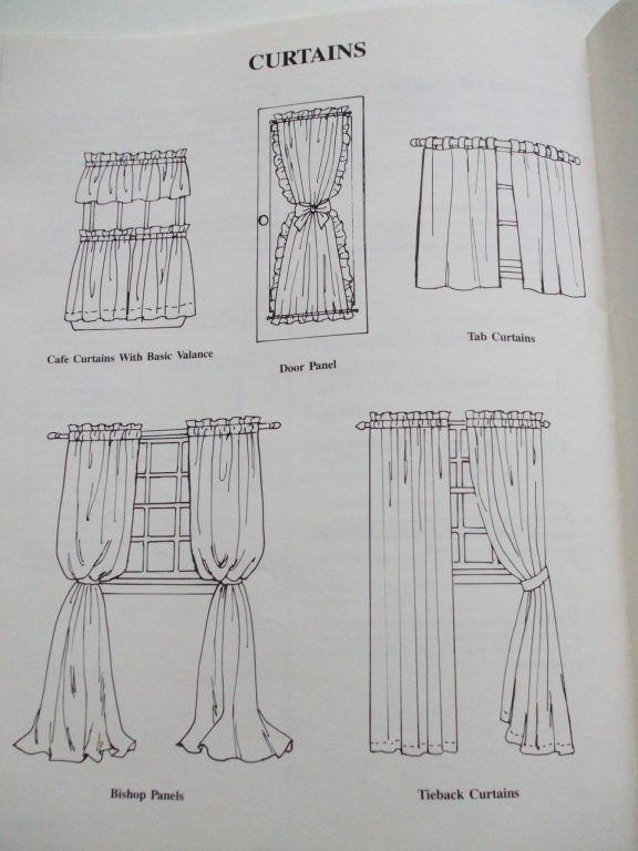 Sewing Patterns For Curtain Valances