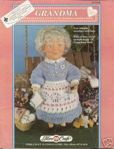 15 Adorable Crocheted Doll Clothing Patterns | 300x230