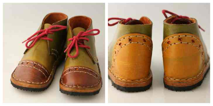 children's boots made at home