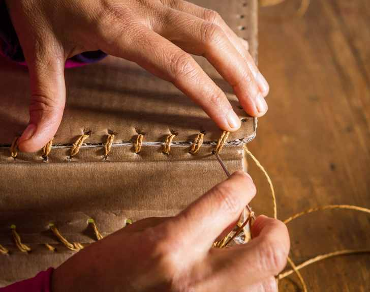 Bag, sewing