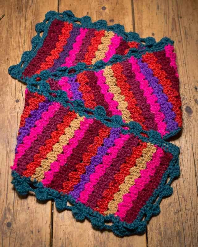 Crocheting A Winter Scarf With Hand Spun Wool Crochet Pattern