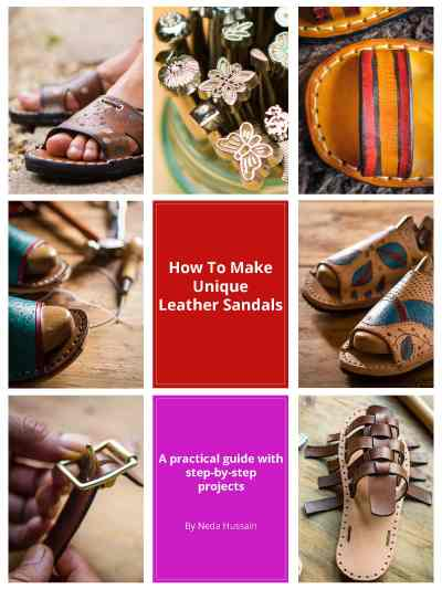 how to make unique leather sandals