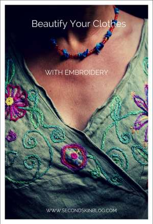 Beautify your clothes with embroidery