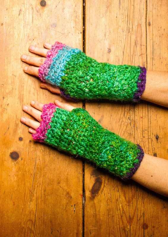 Fingerless Mittens Crochet Pattern Making Cozy Hand Warmers