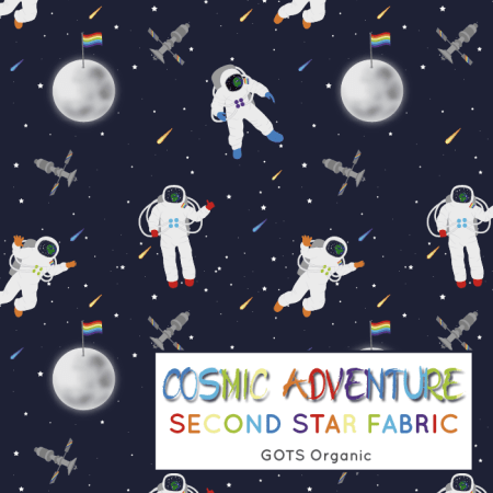 Astronaut Jersey Fabric