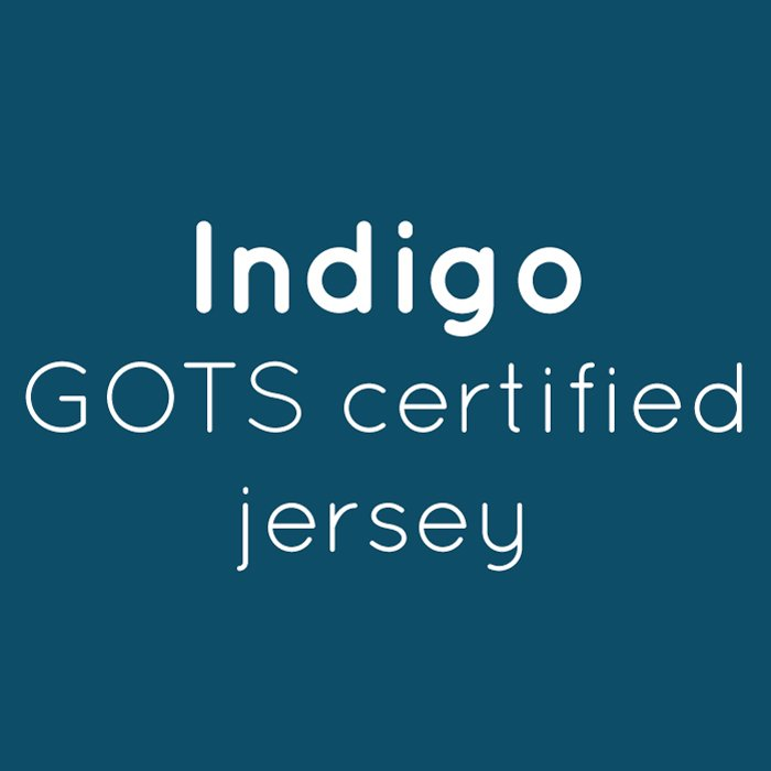 Indigo Organic Jersey