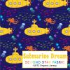 yellow submarine fabric