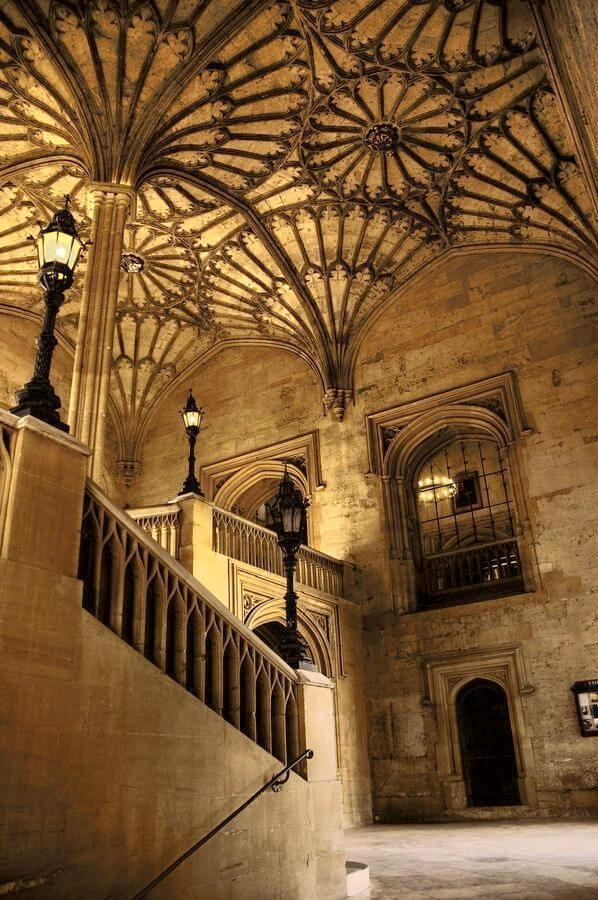 harry potter staircase oxford