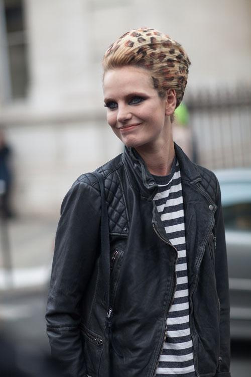 Street Style кутюрной  Недели моды в Париже
