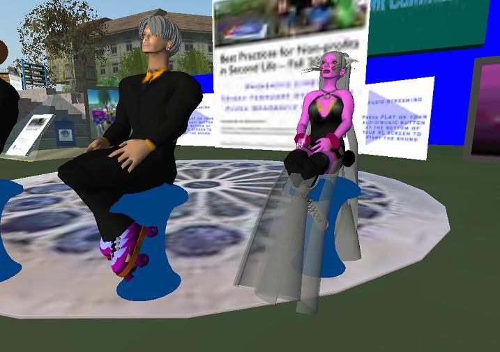Some people in Second Life