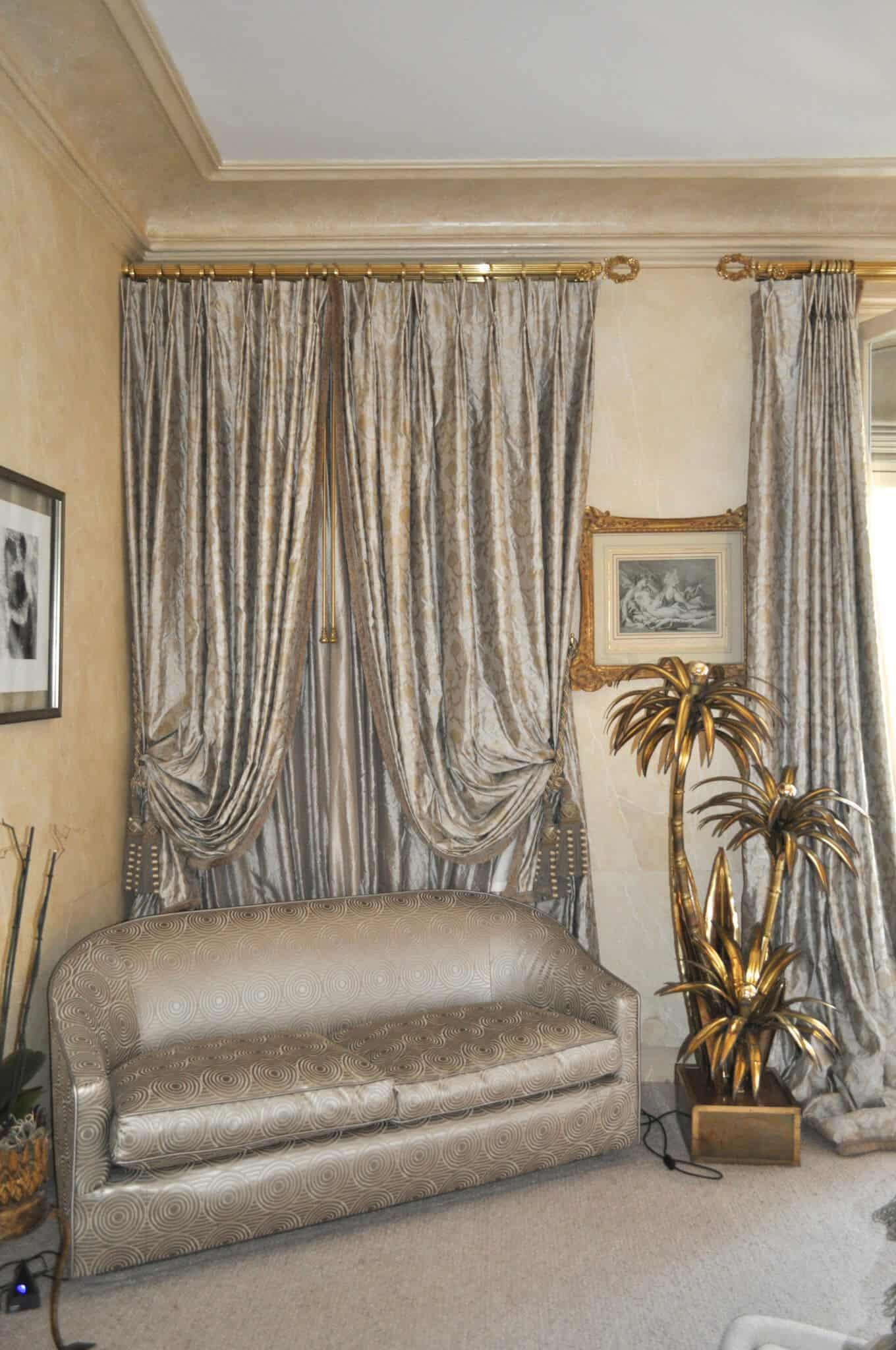 double rideaux et voilages