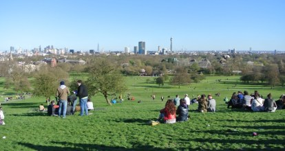 On Top of Primrose Hill