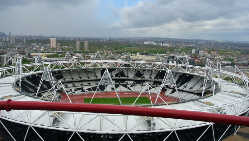 view over olympic stadium