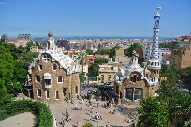 view over Barcelona