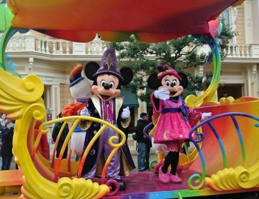 Miickey and Minnie at Disneyland Paris