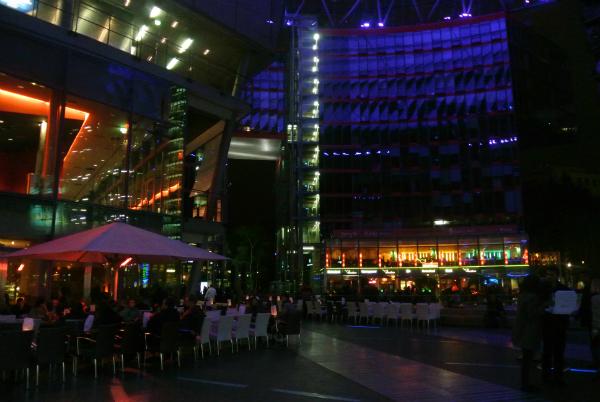 Sony Center Berlin Potsdamer Platz