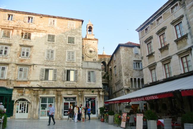 old town in split