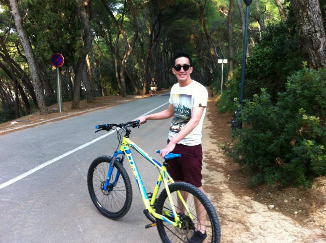 Marjan Park in Split