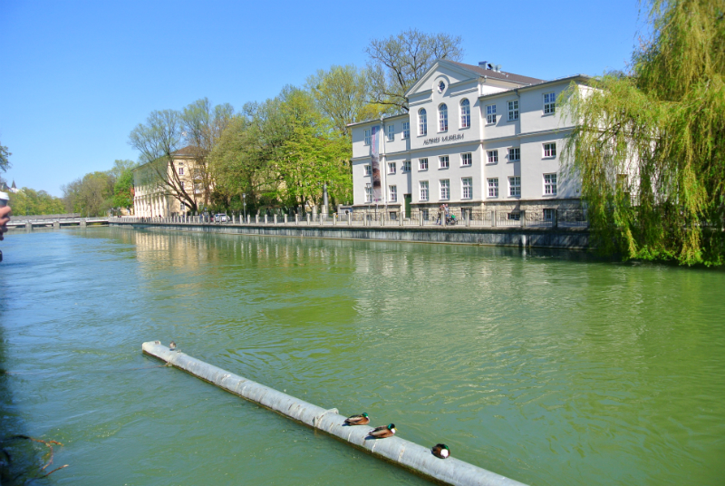Isar in Munich