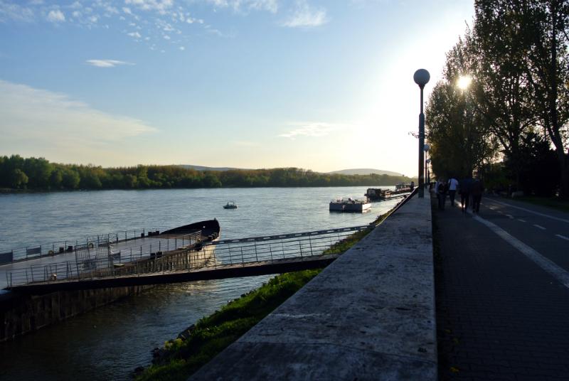 Bratislava river