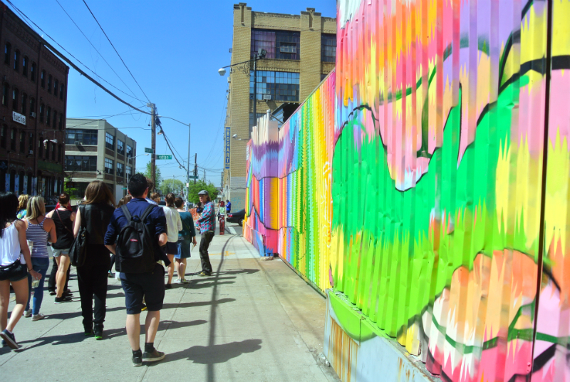 Street Art tour in Bushwick New York
