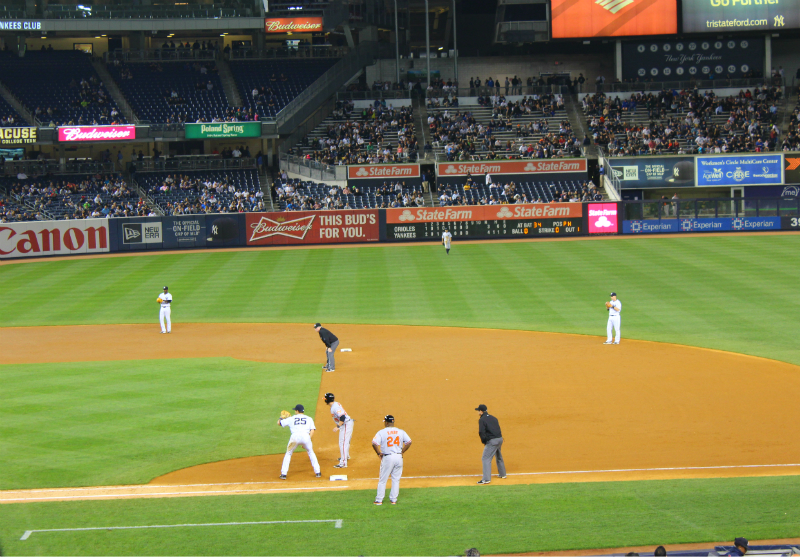 Yankees Game in New York