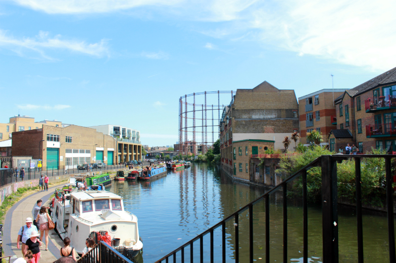Regents Canal in London