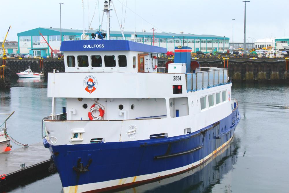 Reykjavik Sailors boat in Reykjavik,Iceland