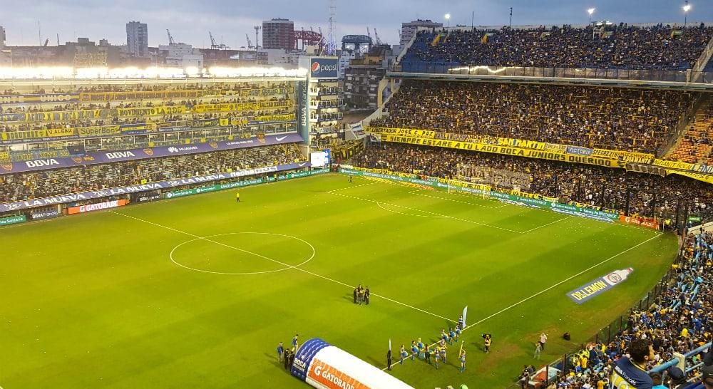 Boca juniors in Buenos Aires