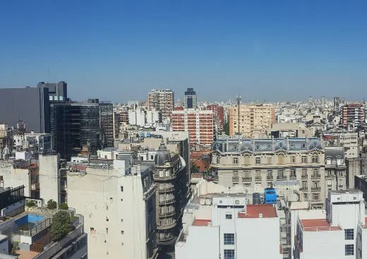 view over Buenos Aires