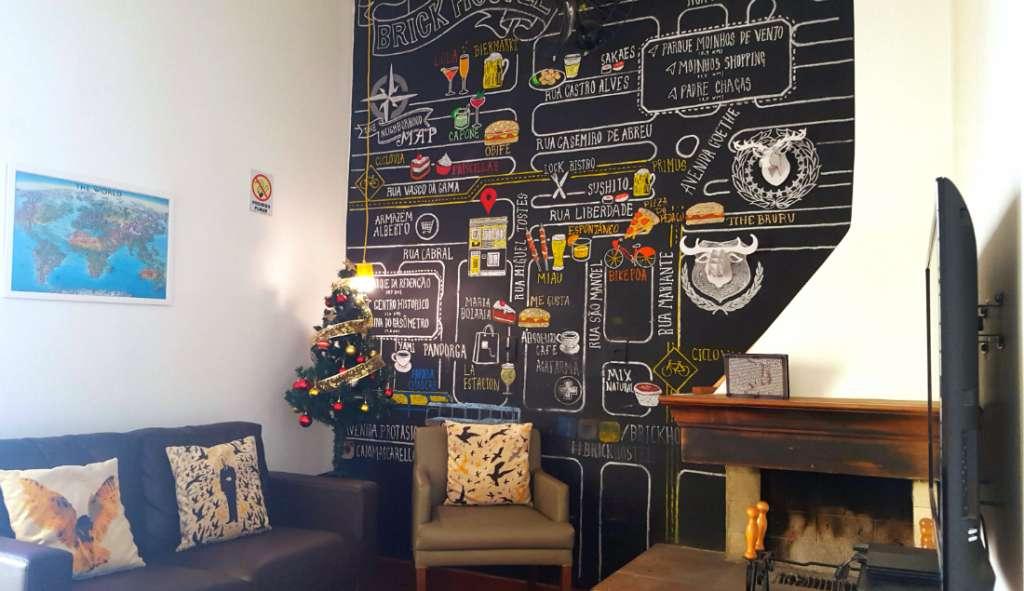 Brick Hostel in Porto Alegre