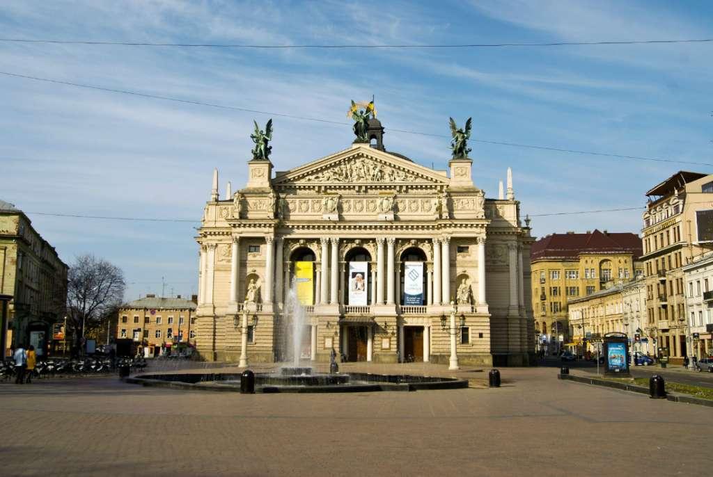 Lviv in Ukraine