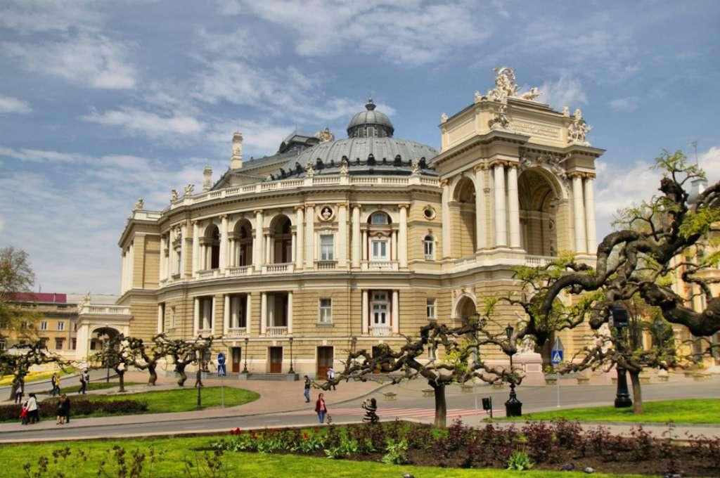 Odessa in Ukraine