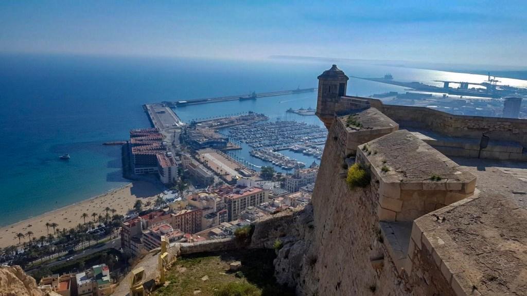 view over Alicante