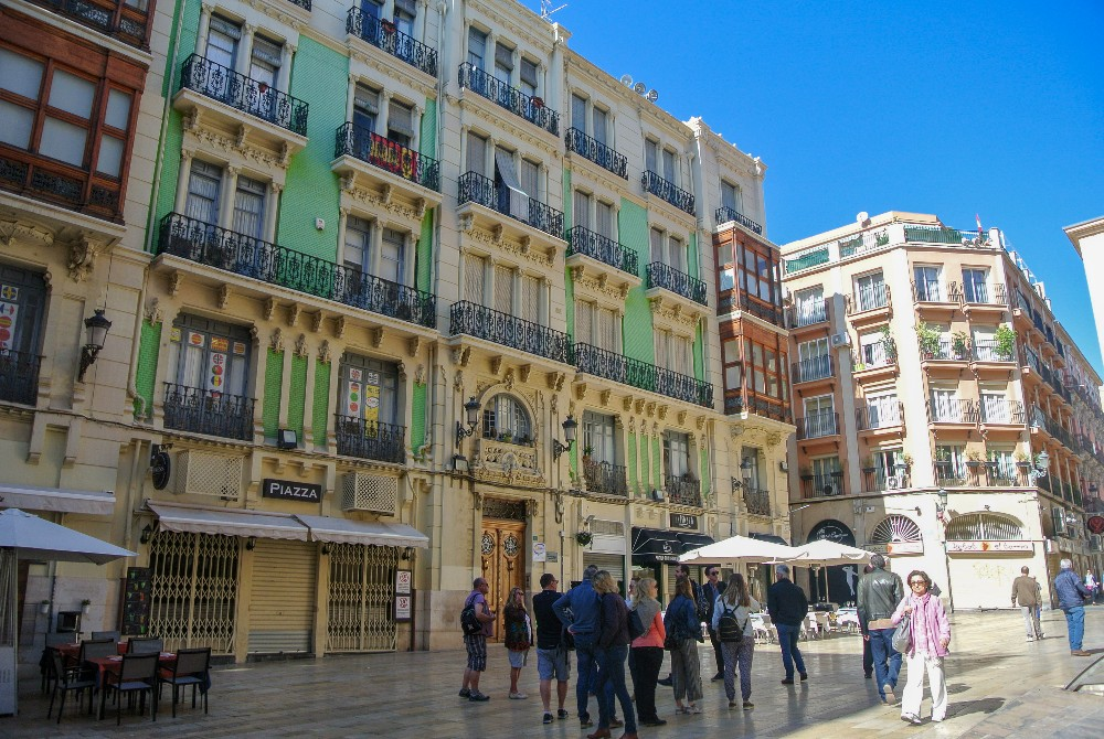 Old Town in Alicante