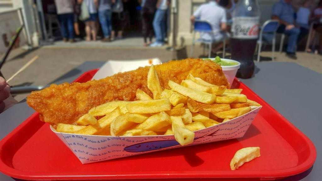 fish and chips in brighton