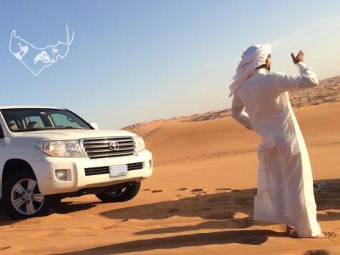 Wüsten Safari in Dubai mit Kamelreiten