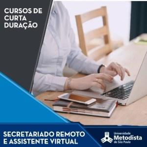 secretariado remoto metodista - Cursos Presenciais