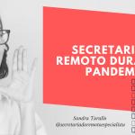 Secretariado Remoto em época de Pandemia