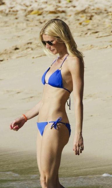 Barbados celebrity Gwyneth Paltrow