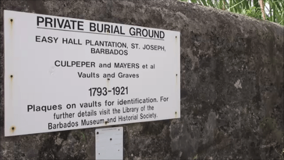 slave burial ground
