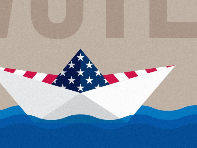AIGA Get Out The Vote Poster Detail
